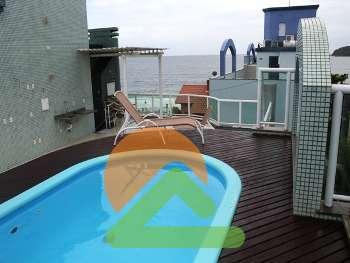 Apartamento com piscina, linda vista em Bombinhas