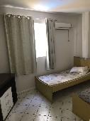 dormitório solteiro com ar