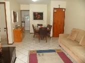 Apartamento com dois dormitórios sendo uma suíte