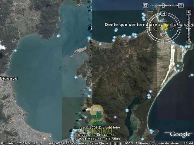 Imagem via satélite 1