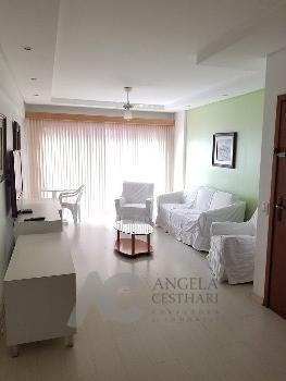 Apartamento 3 dormitórios lateral para o mar