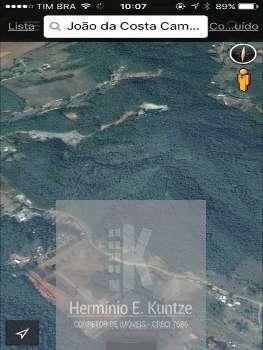 Área Rural Rio Meio Camboriú 44.0000 m²