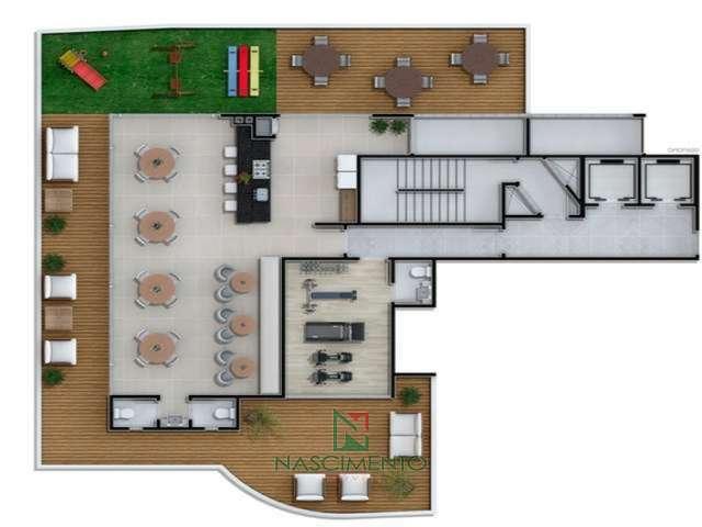 área de lazer 3º andar