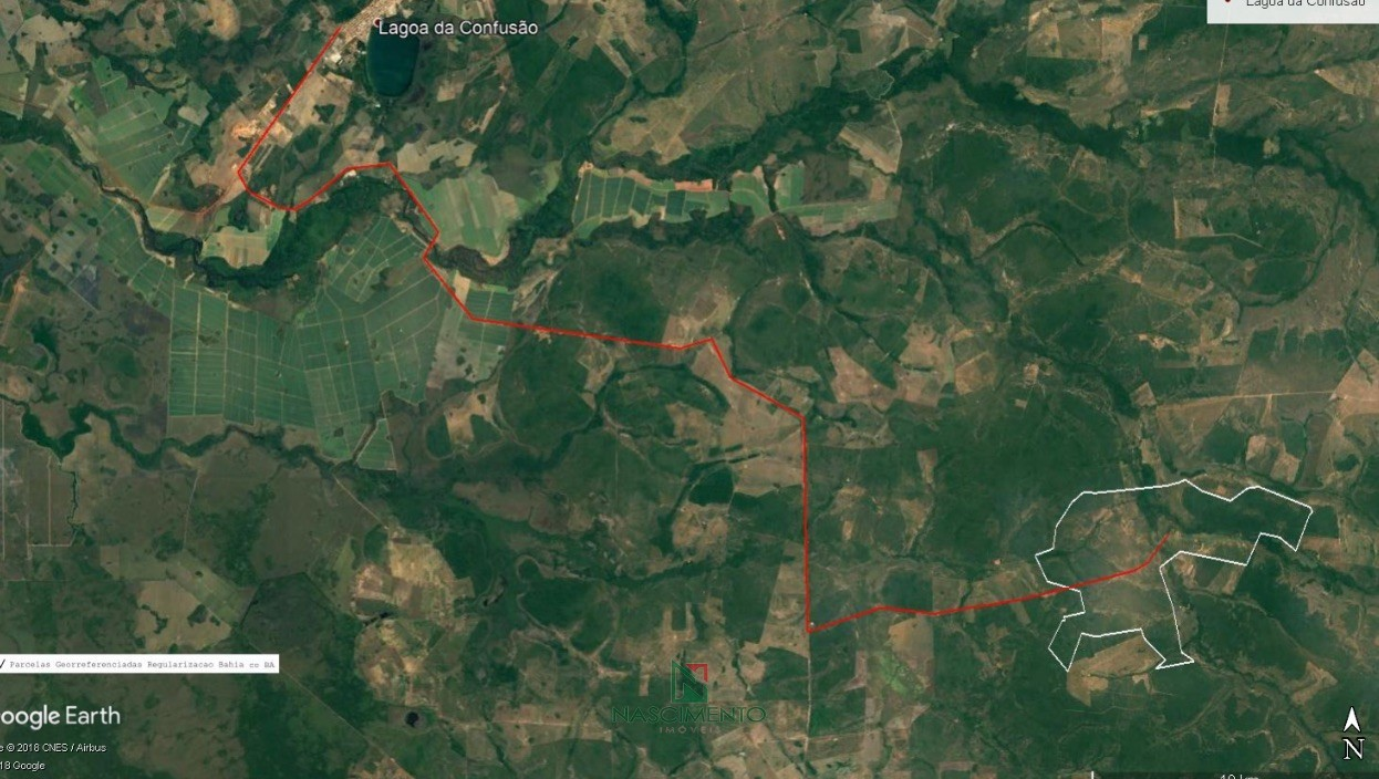 x Localização Fazenda For