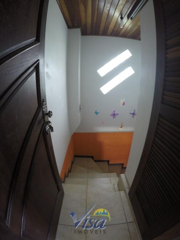 Escada para lavanderia e