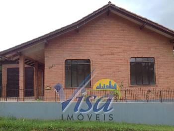 Casa em alvenaria no Mato Preto com 3 quartos