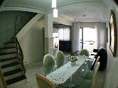 Apartamento duplex no centro