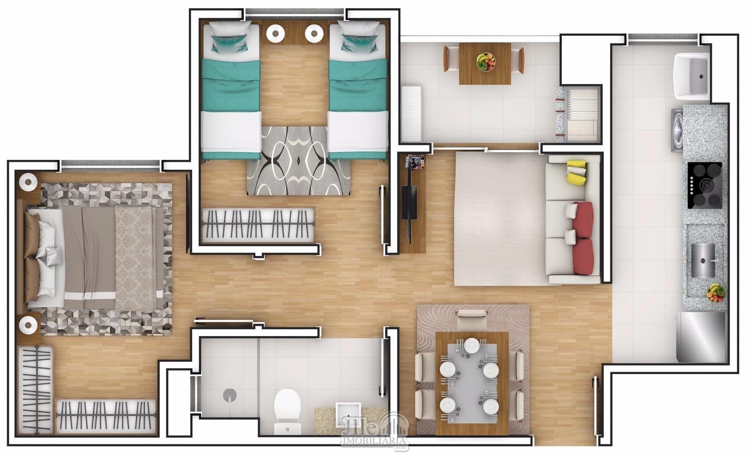 Apartamento Joinville Aventureiro 1997930