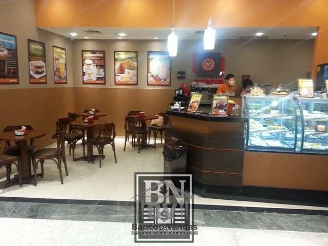 Cafeteria de famosa rede de franquia nacional!