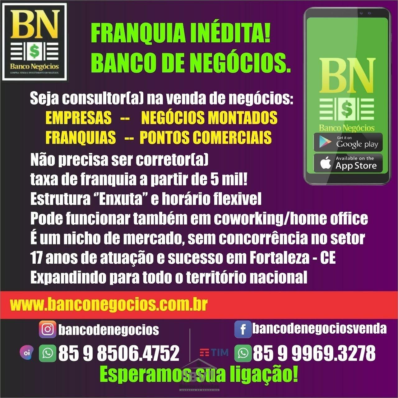 Adquira uma Franquia do BN Banco de Negócios!